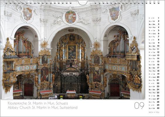 Musik-Geschenk Orgel-Kalender; September