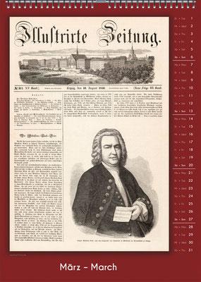 Der Komponisten-Kalender 34 im März.