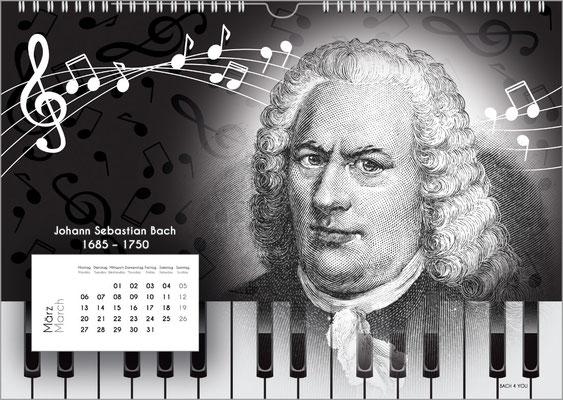 Der Komponisten-Kalender 38 im März.