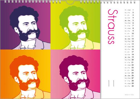 Der Komponisten-Kalender 39 im November.