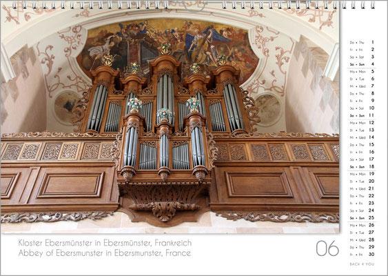 Musik-Geschenk Orgel-Kalender; Juni
