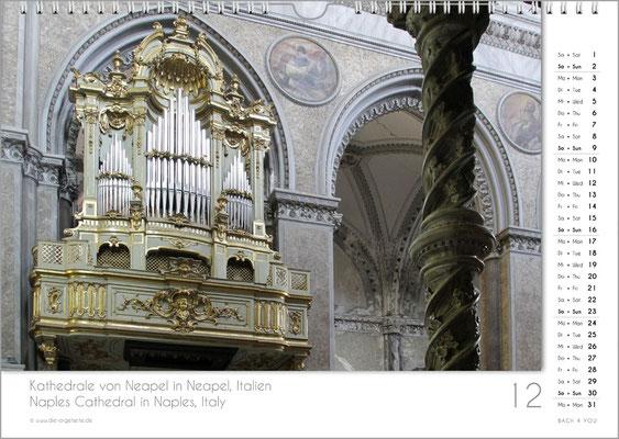 Der Dezember im Orgelkalender 2018.