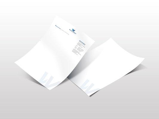 Brief- und Folgebogen