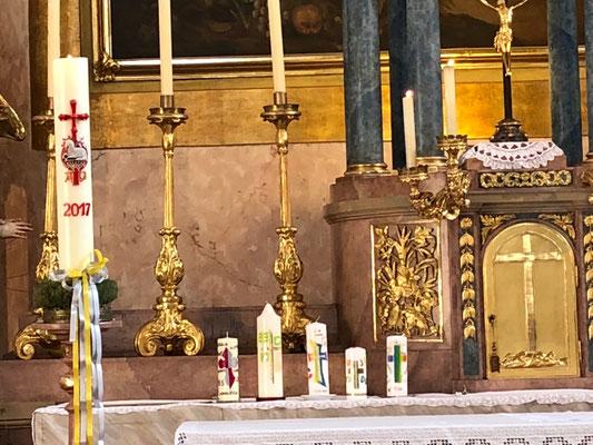 Vorbereitung Erstkommunion Tischmutter