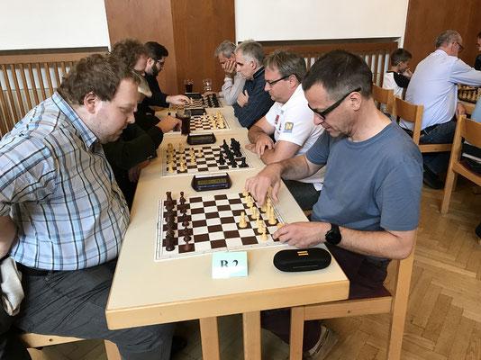 Geismann verliert gegen Haas. Ob es an 1. Sc3 liegt?