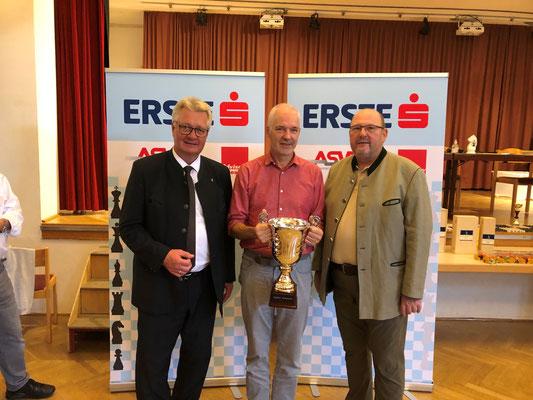 LAbg. Bürgermeister Christoph Kainz, Vereinsmeister Dr. Christian Ebert, Roman Schützl