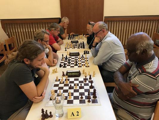 Hofegger- Somasundram, eine Partie, die es laut chess-results gar nicht gab ...