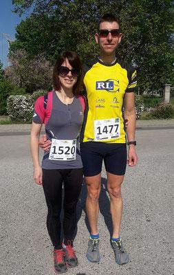Kristian Molnar und Partnerin Rita