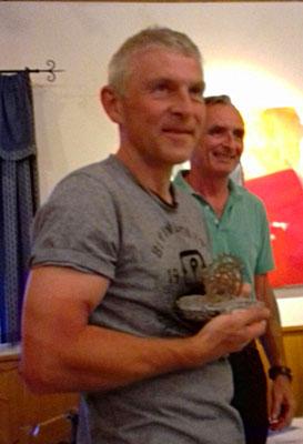 Verspätete Ehrung für Gerhard Unger: 3. Platz Mountainbikerennen