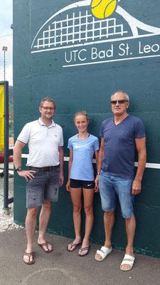 Lavanttaler Tennisnachwuchstalent Elena Karner