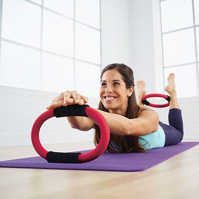 Pilates avec les anneaux Rings