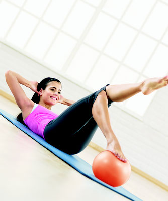 Pilates avec le Mini Flex ball