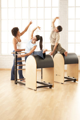 Pilates avec Ladder Barrel