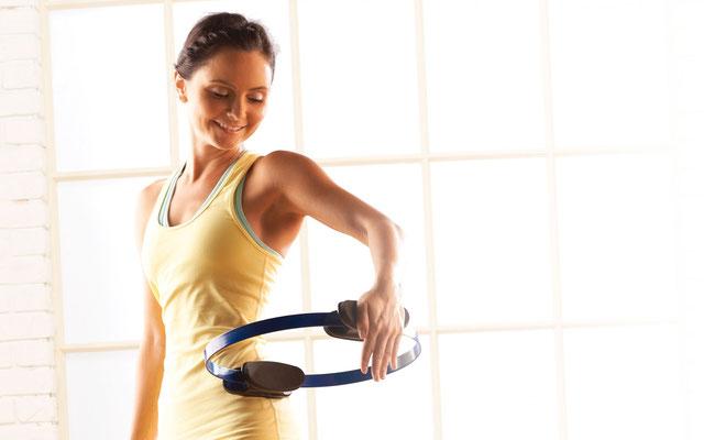 Pilates avec Fitness cercle