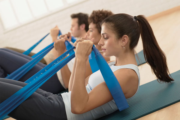 Pilates avec Elastic Band
