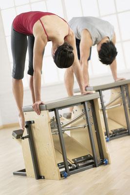 Pilates avec chaise