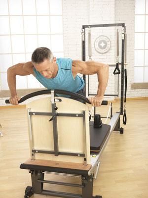 Pilates sur Reformer avec le Cross Bow