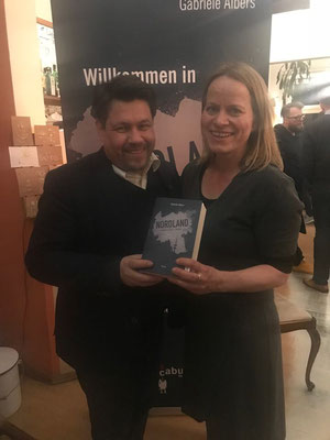 Book-Release Party; hier mit Uwe Melichar
