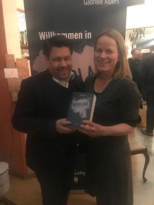 Book-Release Party; hier mit Uwe Melichar