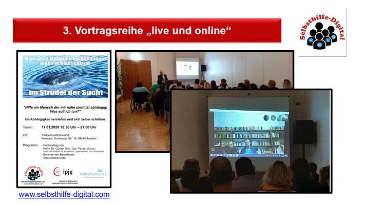 10. Vorstellung von Fachvorträgen live und digital