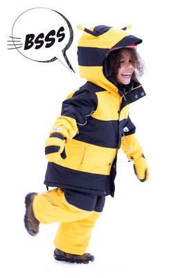 FlashyStars Schneeanzug Kinder Biene