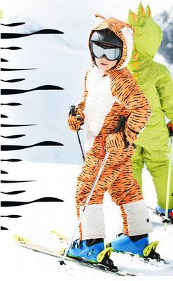 FlashyStars Schneeanzug Kinder Tiger