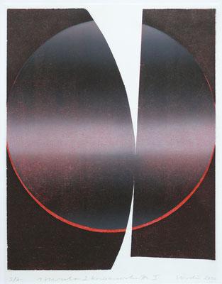 1viereck+2kreisausschnitte  40x30cm farbholzdruck 2010