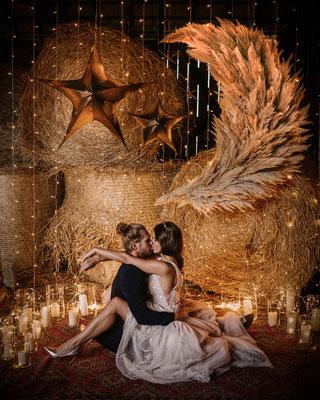 Sonnet to the Moon - Celestial Wedding Inspo