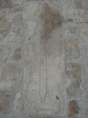 Les pierres tombales du XIIe