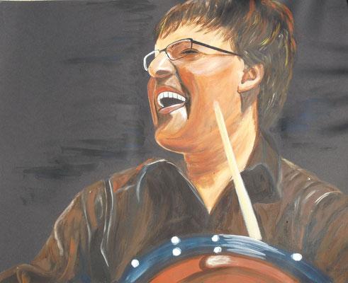 Drummer (40x50 cm)