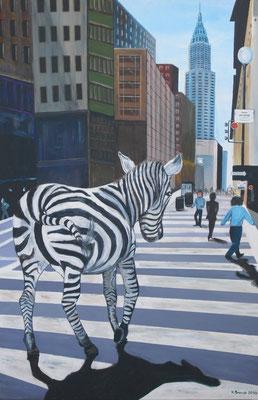 Zebra-Streifen (120x80cm)