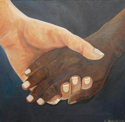 Hände 1 (40x40 cm)