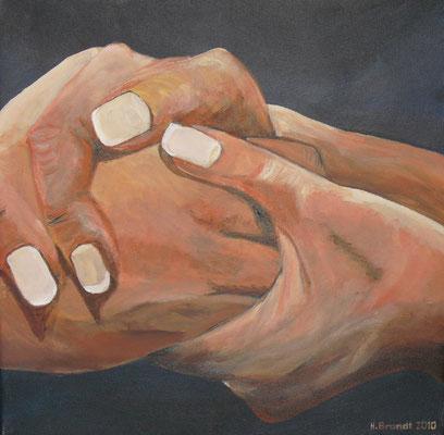 Hände 3 (40x40 cm)