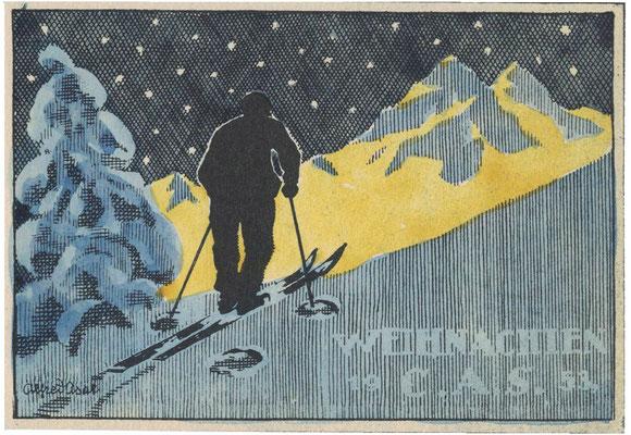 CAS Weihnachtskneipe 1953