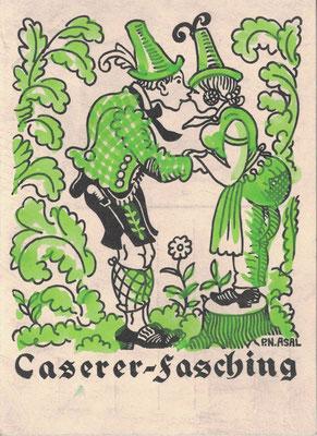 CASerer Fasching 1957