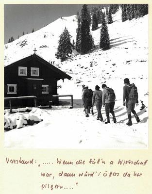 Ankunft an der Neuhütte-Fockenstein 1980 Photo: Rudolf Rother