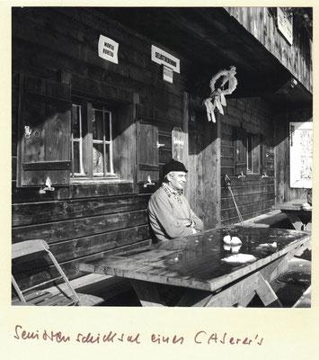 Seniorenschicksal eines CASerers 1980 Photo: Rudolf Rother