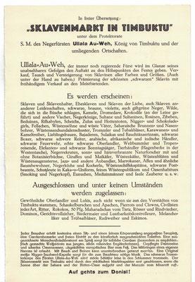 CASerer Fasching 1928 Schwarzes Fest Seite 3