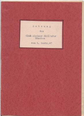 Titel der C.A.S.-Satzung 1947