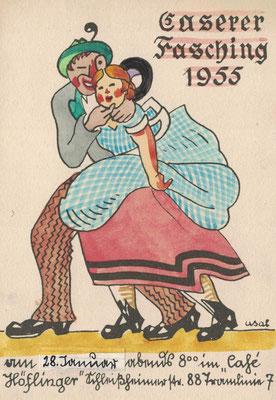CASerer Fasching 1955