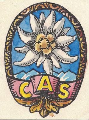Handgemaltes Club-Emblem