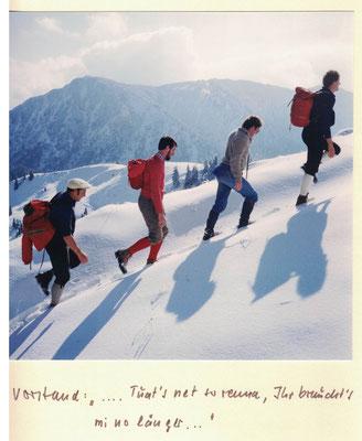 Fockenstein Aufstieg 1980 Photo: Rudolf Rother