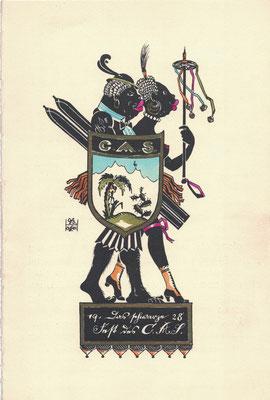 CASerer Fasching 1928 Schwarzes Fest
