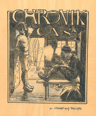 CAS Chronik Titel 1906