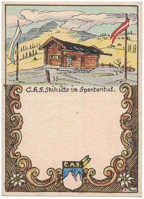 CAS Hütten-Übernahmefeier 1954
