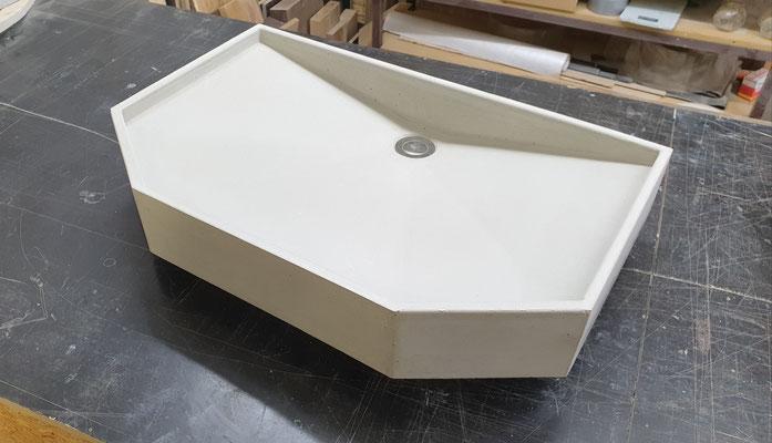 Ein Waschbecken aus Beton selber bauen