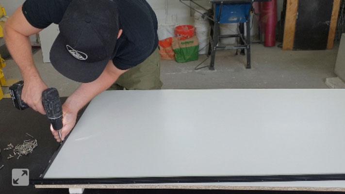 Beliebt Einen Tisch aus Beton selber machen -DIY- - Betonmöbel einfach OA41