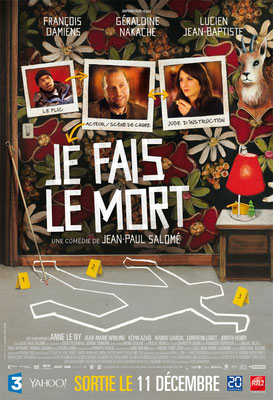 """Thomas Bossard, Artiste peintre, affiche film """"Je fais le mort"""""""
