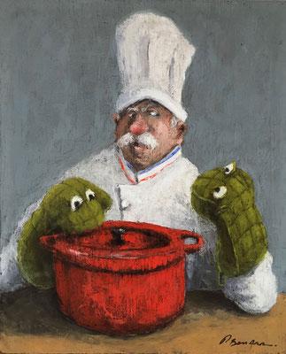 Thomas Bossard, artiste peintre,