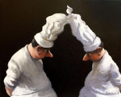 Artiste peintre, Peinture, Peintre, Huile sur toile, Thomas Bossard